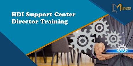 HDI Support Center Director 3 Days Virtual Live Training in Dunedin tickets