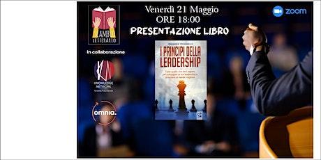 """Presentazione libro """"I principi della leadership"""" di Pasquale Troianiello biglietti"""