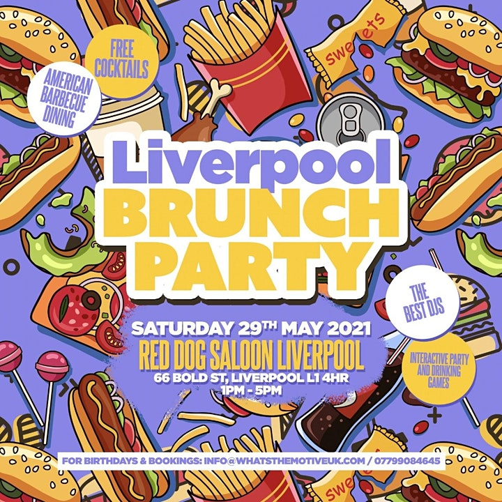 Liverpool Brunch Party - The Best Saturday in Liverpool image