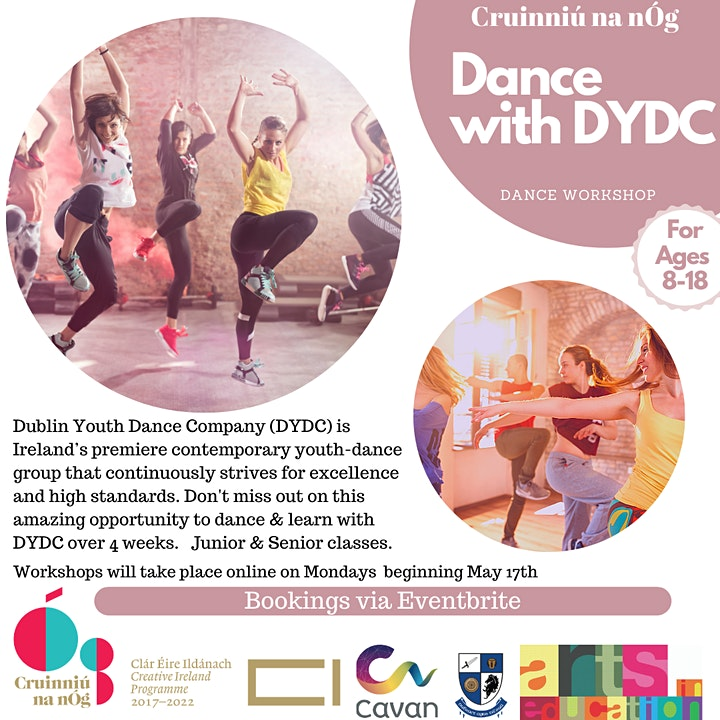 Dance with DYDC (Ages 8-12 Workshops) image
