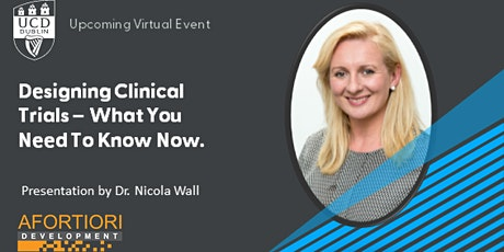 Designing Clinical Trials - What You Need to Know Now tickets