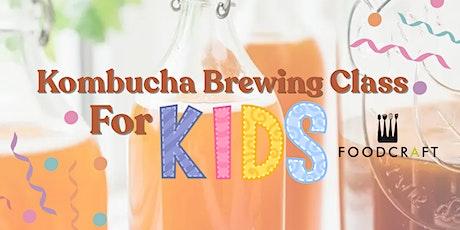 Kid's Kombucha Class tickets