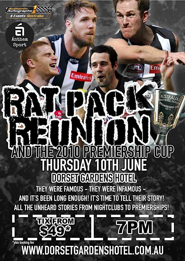 Rat Pack Reunion feat Swanny, Shaw, Didak & Johnson at Dorset Gardens Hotel image