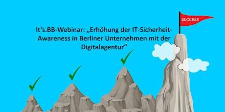 Erhöhung der IT-Sicherheit-Awareness in Berliner Unternehmen mit der DAB tickets