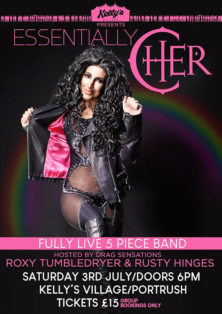 Essentially Cher live at Kellys Village, Portrush, with hosts Roxy & Rusty image