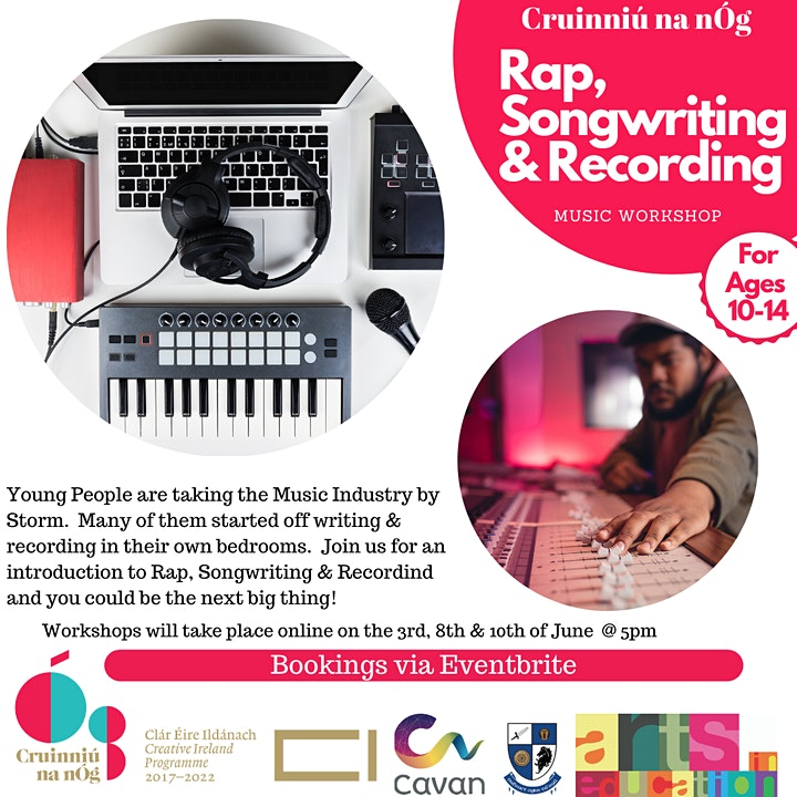 Rap, Songwriting & Recording Workshop with GMC Beats image