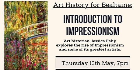 Art History - Introduction to Impressionism tickets