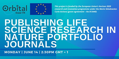 ORBITAL: Publishing life science research in Nature Portfolio journals tickets