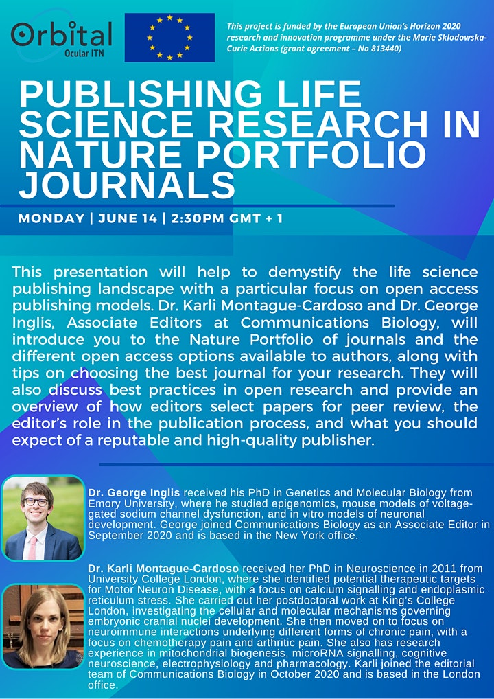ORBITAL: Publishing life science research in Nature Portfolio journals image