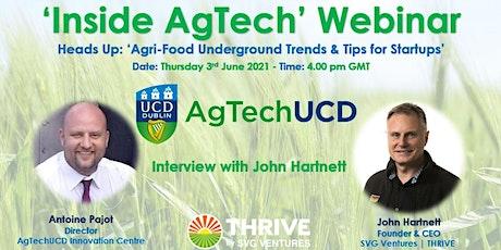 'Inside AgTech' Webinar Series tickets