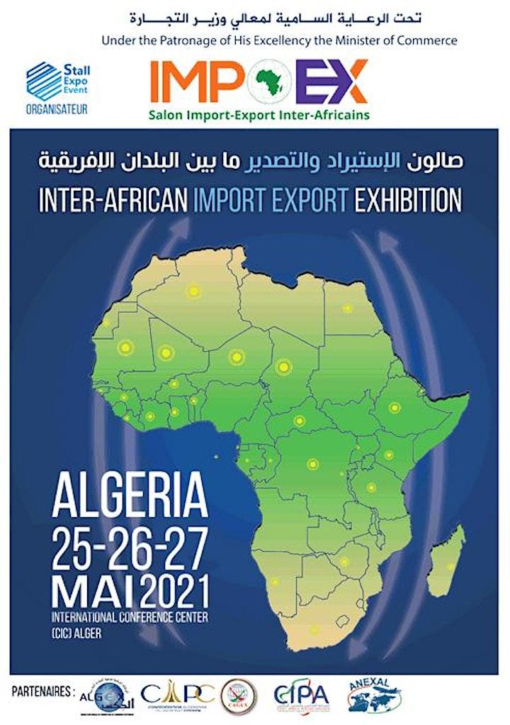 Image pour IMPEX : Le salon Import-Export Inter-Africains 2021