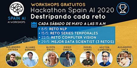 Workshops (ganadores Hackathon Spain AI): Destripando cada reto entradas