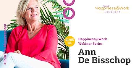 Online Webinar: Ann De Bisschop tickets