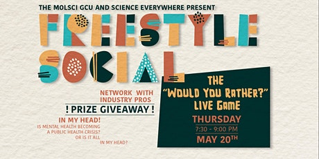 """Freestyle Social: The """"would you rather?"""" live game tickets"""