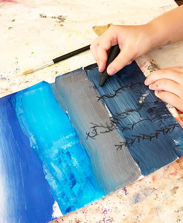 Crafty Kids JUNE Half Term - Summer themed Art & Craft Fun image