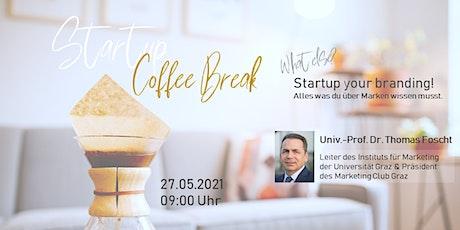 Startup Coffee Break - What else? Tickets
