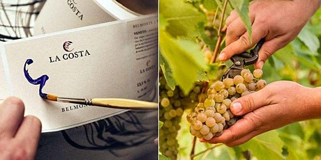 Organic Winery Visit: Wine Label Painting, Wine Tasting and Lunch tickets