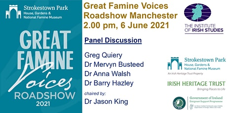 Great Famine Voices Roadshow 2021 - Manchester tickets