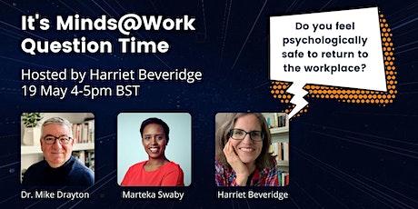 Minds@Work Question Time biglietti