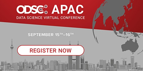 ODSC APAC Virtual Conference 2021 tickets