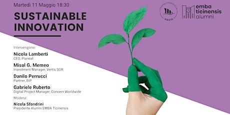 Sustainable Innovation: la sostenibilità vista dall'interno biglietti