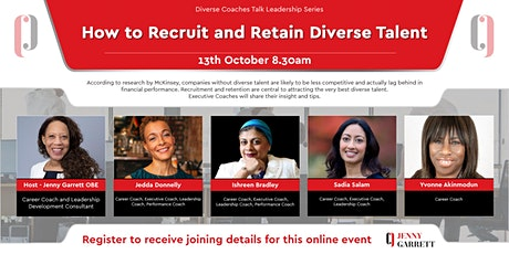 How to Recruit and Retain Diverse Talent tickets