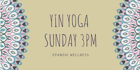 Yin yoga in the park - Kensington tickets