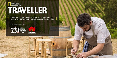 Explore Adelaide & South Australia with wine expert Olly Smith & guests ingressos