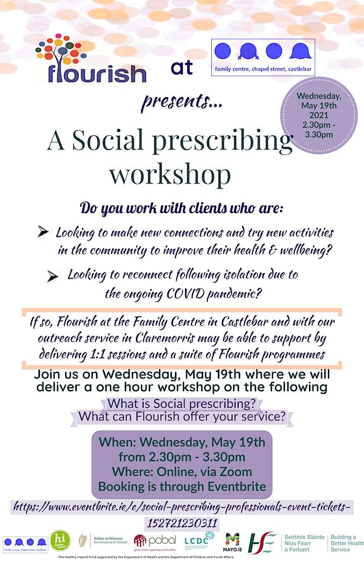 Social prescribing professionals event image