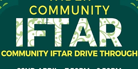 Cheadle Masjid Drive Through Iftar tickets