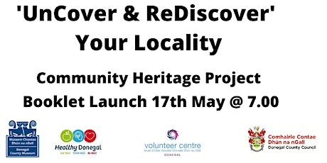 Launch of the UnCover & reDiscover Community heritage Booklet tickets
