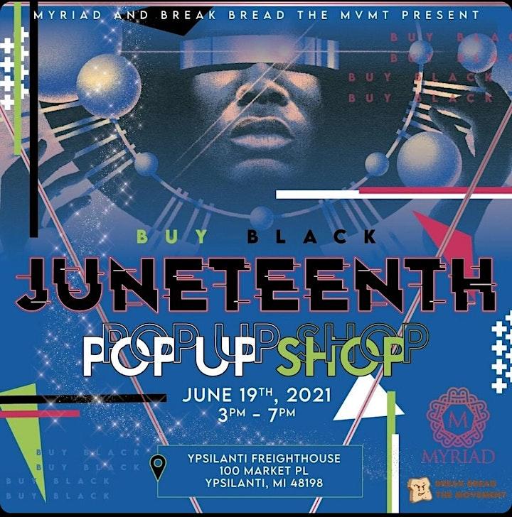 Buy Black Juneteenth Pop-Up Shop image