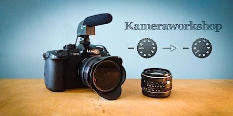 Grundlagen der Kamera - Videoworkshop 1/5 Tickets