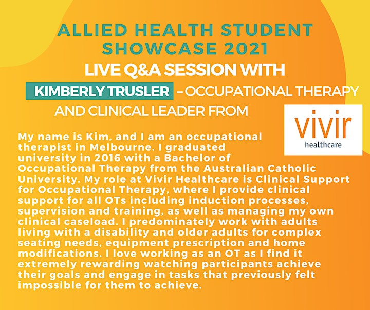 Southern Cross University Allied Health Student Showcase image