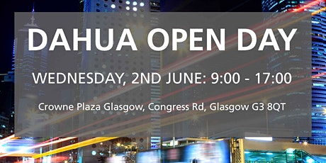 RISCO Dahua Open Day - Scotland tickets