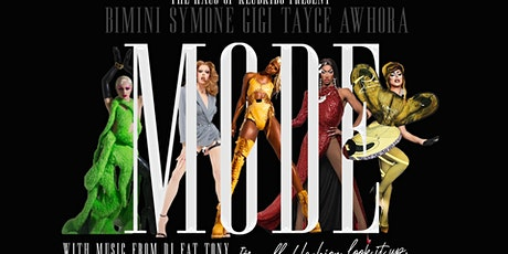 KLUB KIDS CARDIFF presents MODE featuring SYMONE/GIGI & more (ages 14+) tickets