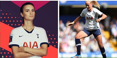 GIRLS ONLY FOOTBALL CAMP WITH TOTTENHAM STARS CHLOE & ROSELLA  IN WATFORD tickets