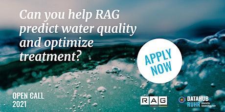 DataHub Ruhr-Q&A - Challenge: Mine Water Treatment – hydrogen sulfide(H2S) tickets
