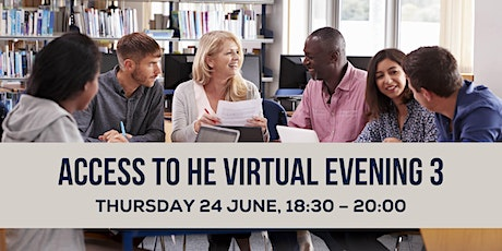 Access to HE Virtual Evening 3 tickets