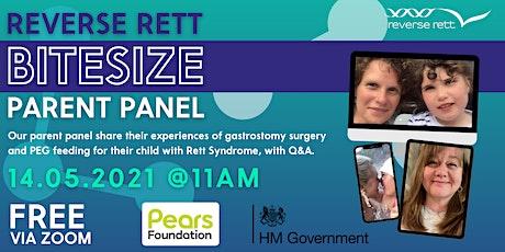 Parent Panel: Gastrostomies and PEG feeding tickets