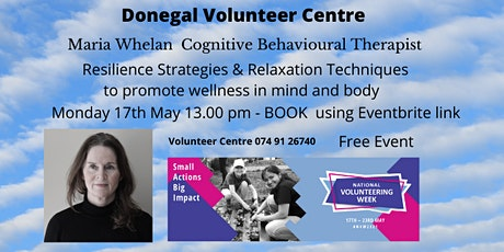 Volunteer Wellbeing / Resilience in COVID 19 Times. tickets