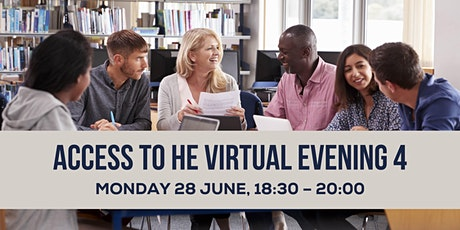 Access to HE Virtual Evening 4 tickets