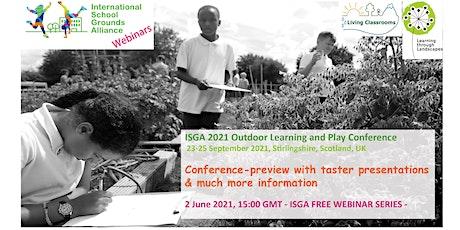 ISGA Free Webinar Series - June 2021 tickets