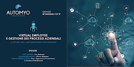 Virtual Employee e Gestione dei Processi Aziendali biglietti