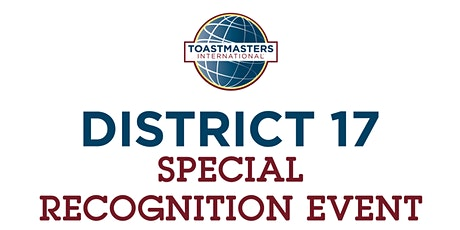 District 17 Special Recognition Event tickets