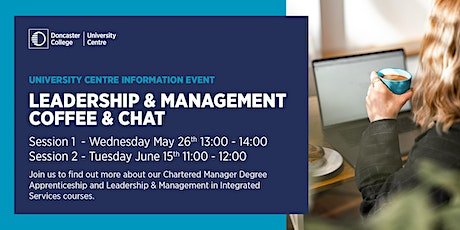Leadership & Management Coffee & Chat tickets