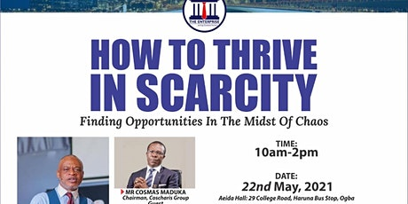 How to thrive in Scarcity tickets