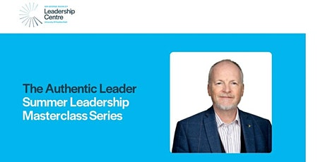 SGBLC - Summer Leadership Masterclass Series - The Authentic Leader tickets