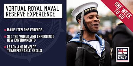 Virtual Royal Naval Reserve Experience - Bristol and Birmingham Units tickets