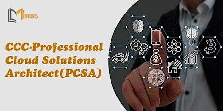 CCC-Professional Cloud Solutions Architect 3Days Virtual Training-Stuttgart tickets